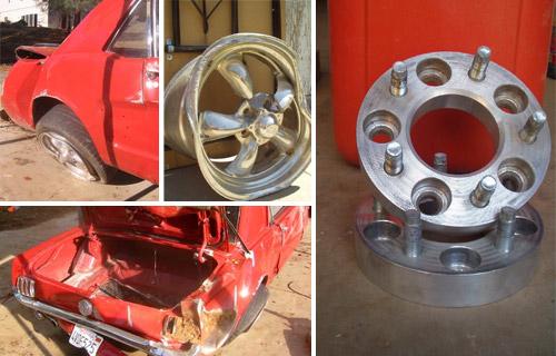 Ford Mustang wheel spacer testimonial
